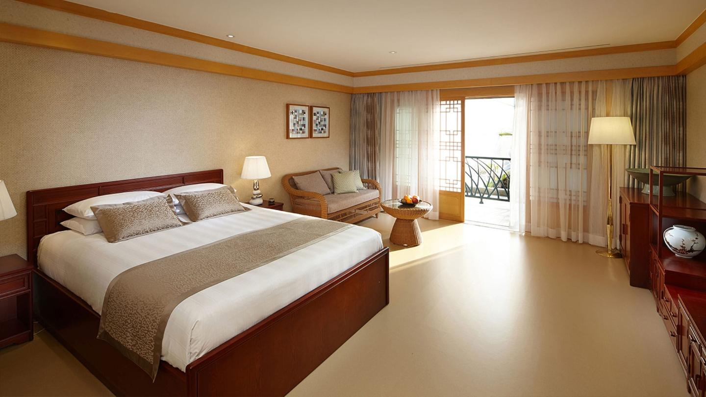 Lotte Hotel Jeju-Rooms-Deluxe-Ondol Room (Garden View)