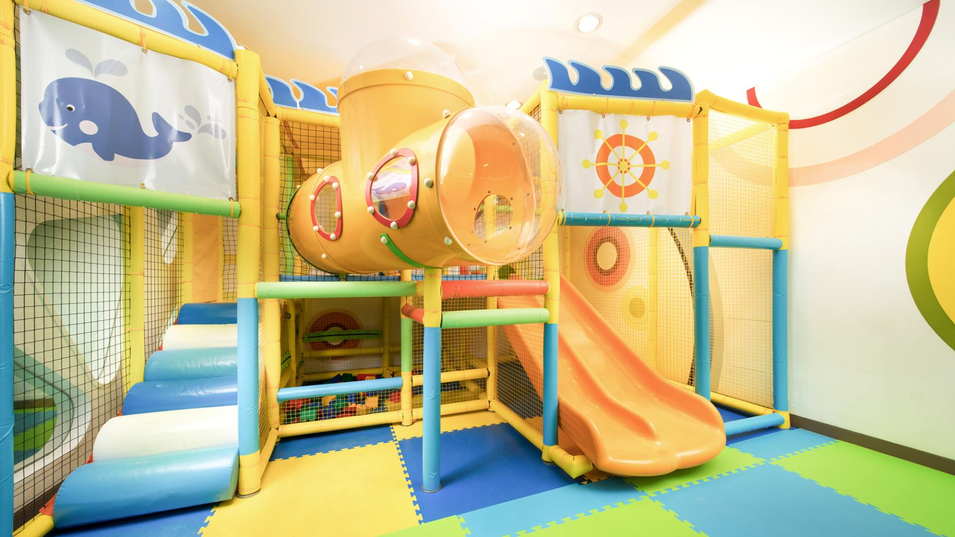 kids world slide