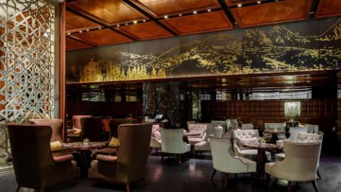 LOTTE HOTEL MOSCOW, Lounge Bar, interior, Lounge Bar interior