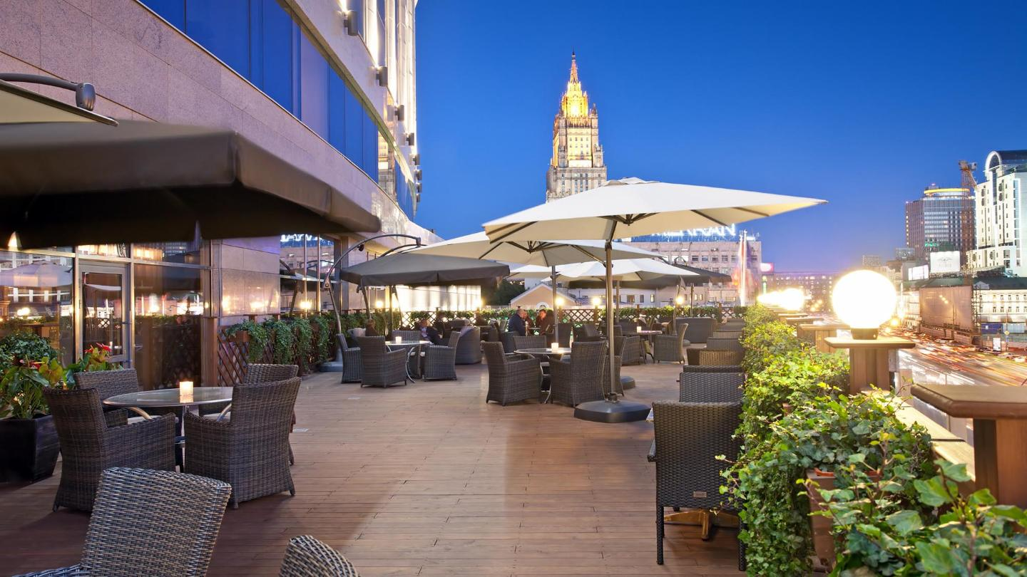 Lotte Hotel Moscow-Dining-Bar & Lounge-The Terrace