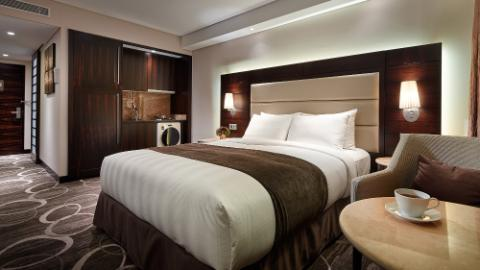 Lotte Hotel Ulsan, Guest Room, Suite, Residental Superior Double + Kitchen